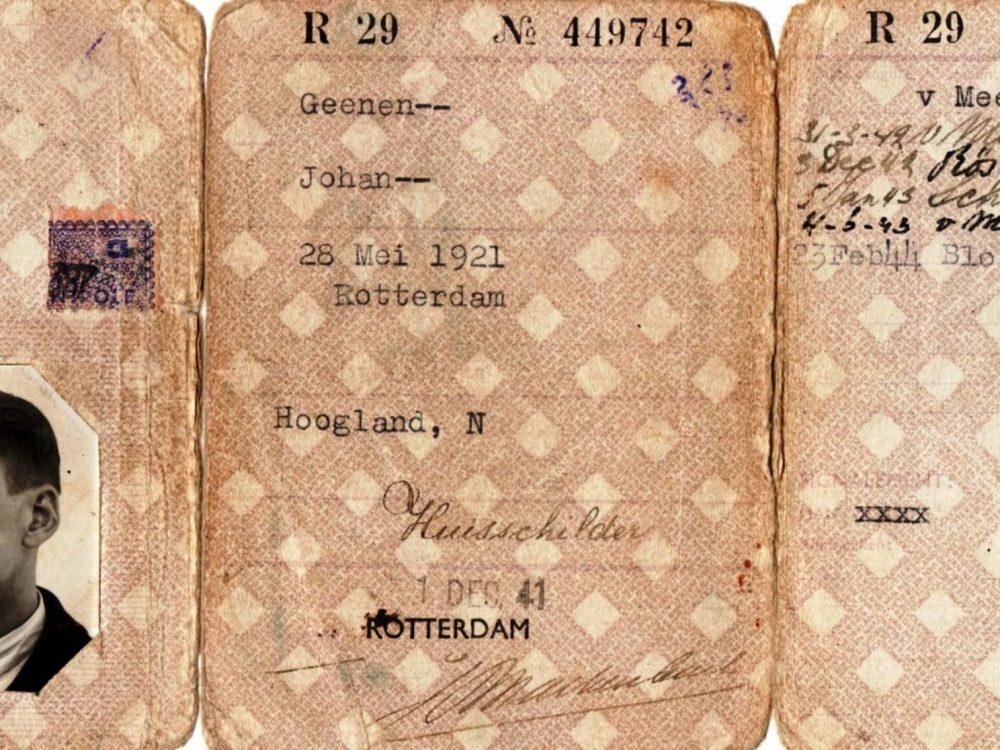 Persoonsbewijs Pa Geenen
